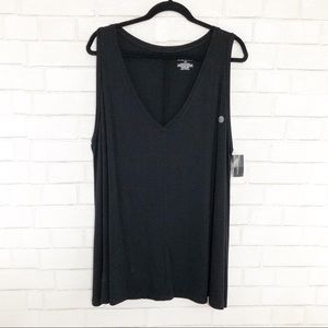 Lane Bryant Black Swing Tank Size 22/24, NWT